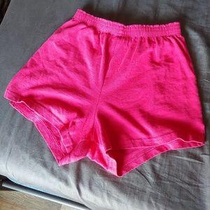 Magenta Soffe Shorts